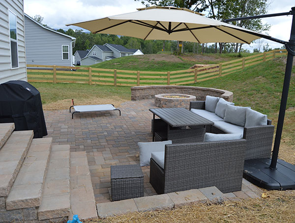 hardscape outdoor living